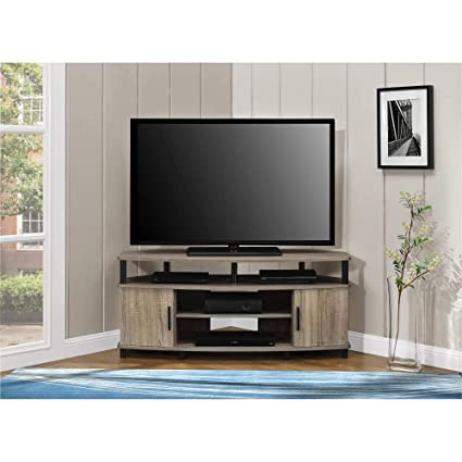 Amazon.com: TV Stand Entertainment Center 50 Inch Corner Living Room ...