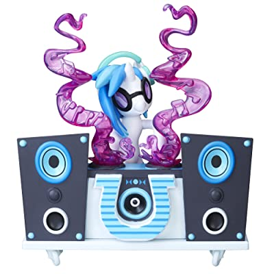 My Little Pony Guardians of Harmony Fan Series Sculpture DJ Pon-3: Toys & Games