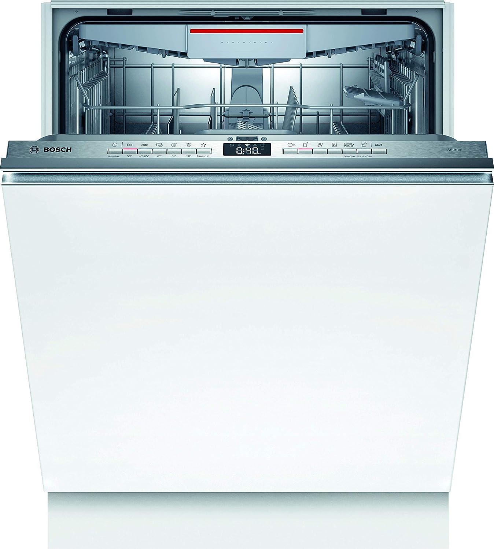 Bosch SMV4HVX31E Serie 4 Lavavajillas totalmente integrado, A++, 60 cm, 262 kWh/año, 13 MGD, Silence, InfoLight, secado extra y VarioSchublade Home Connect