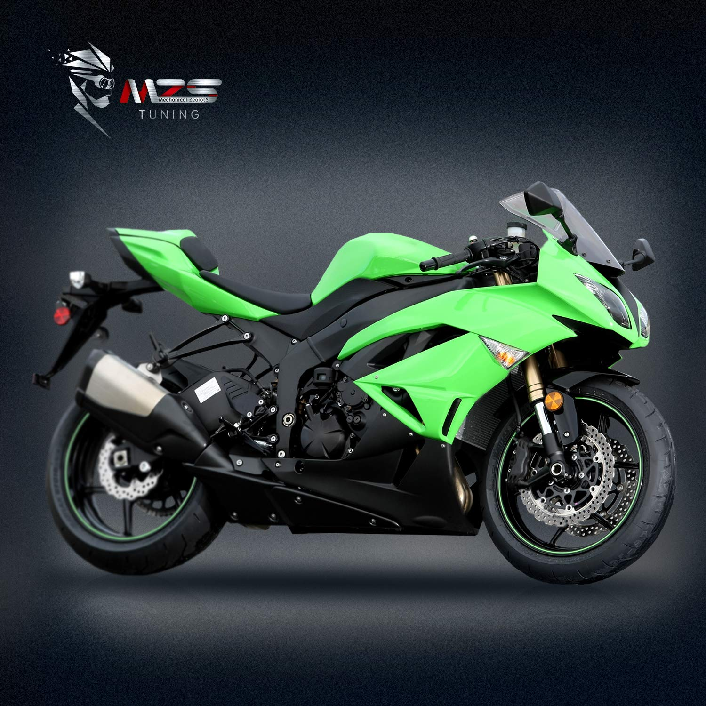 MZS - Espejos retrovisores para motocicleta: Amazon.es ...