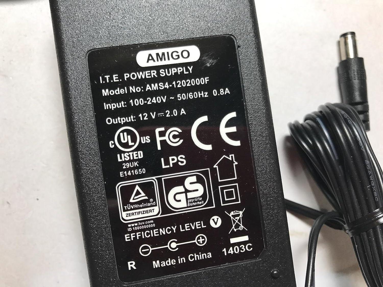 12V 1A Mains AC Adaptor Power Supply for Pure One Elite FM DAB Radio FM120010UK