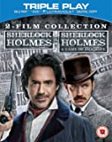 The Sherlock Holmes Collection - Triple Play (Blu-ray + DVD + UV Copy) [Region Free] [UK Import]
