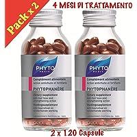 Phyto Phytophanere Integratore Alimentare Capelli e Unghie - 4 MESI di TRATTAMENTO - 120 + 120 Capsule