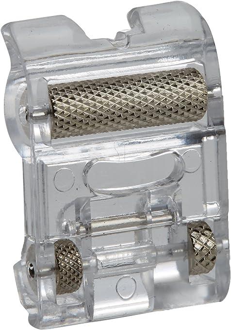 Alfa Prensatelas con ruedas para materiales elásticos y gruesos, accesorio para máquina de coser, acero inoxidable: Amazon.es: Hogar