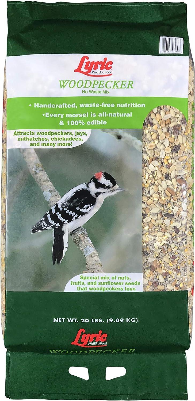 Lyric 2647472 Woodpecker No Waste Mix, 20 lb