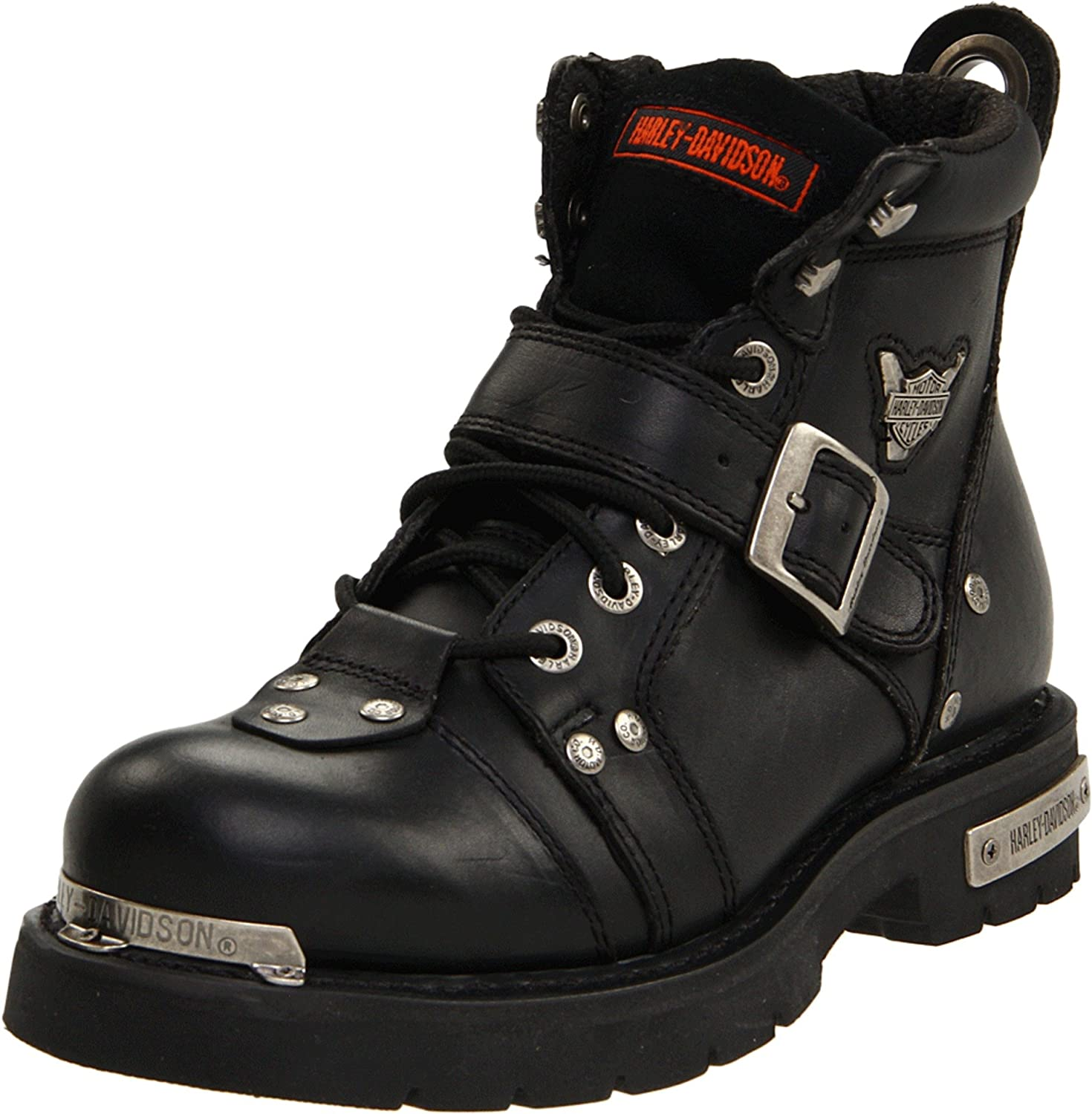 Amazon Com Harley Davidson Mens Brake Buckle Boot Motorcycle Combat