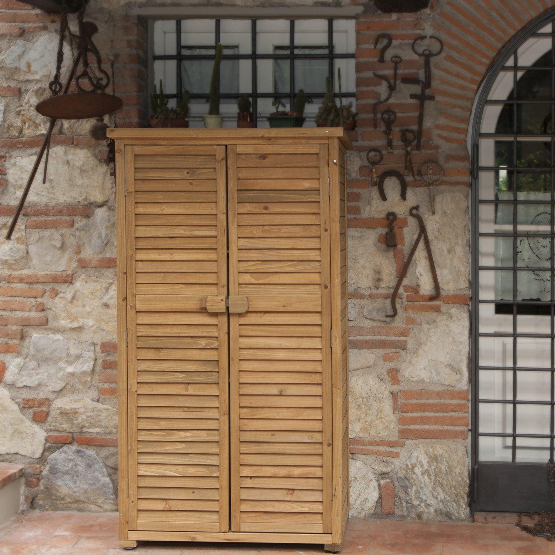 Fontane per arredamento - Armadio in legno per esterno ...