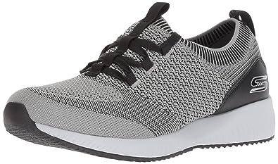 Skechers Bobs Squad-Alpha GAL, Zapatillas para Mujer: Amazon.es: Zapatos y complementos