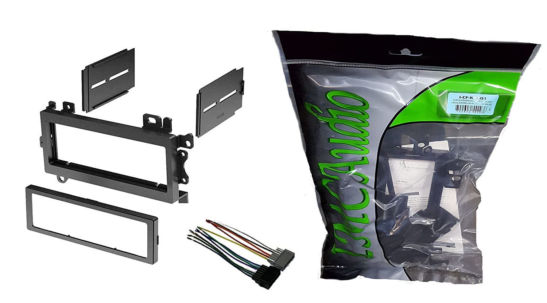 IMC Audio Single Din Dash Kit for Aftermarket Radio Installation Dodge on rca wire, ice wire, apc wire,