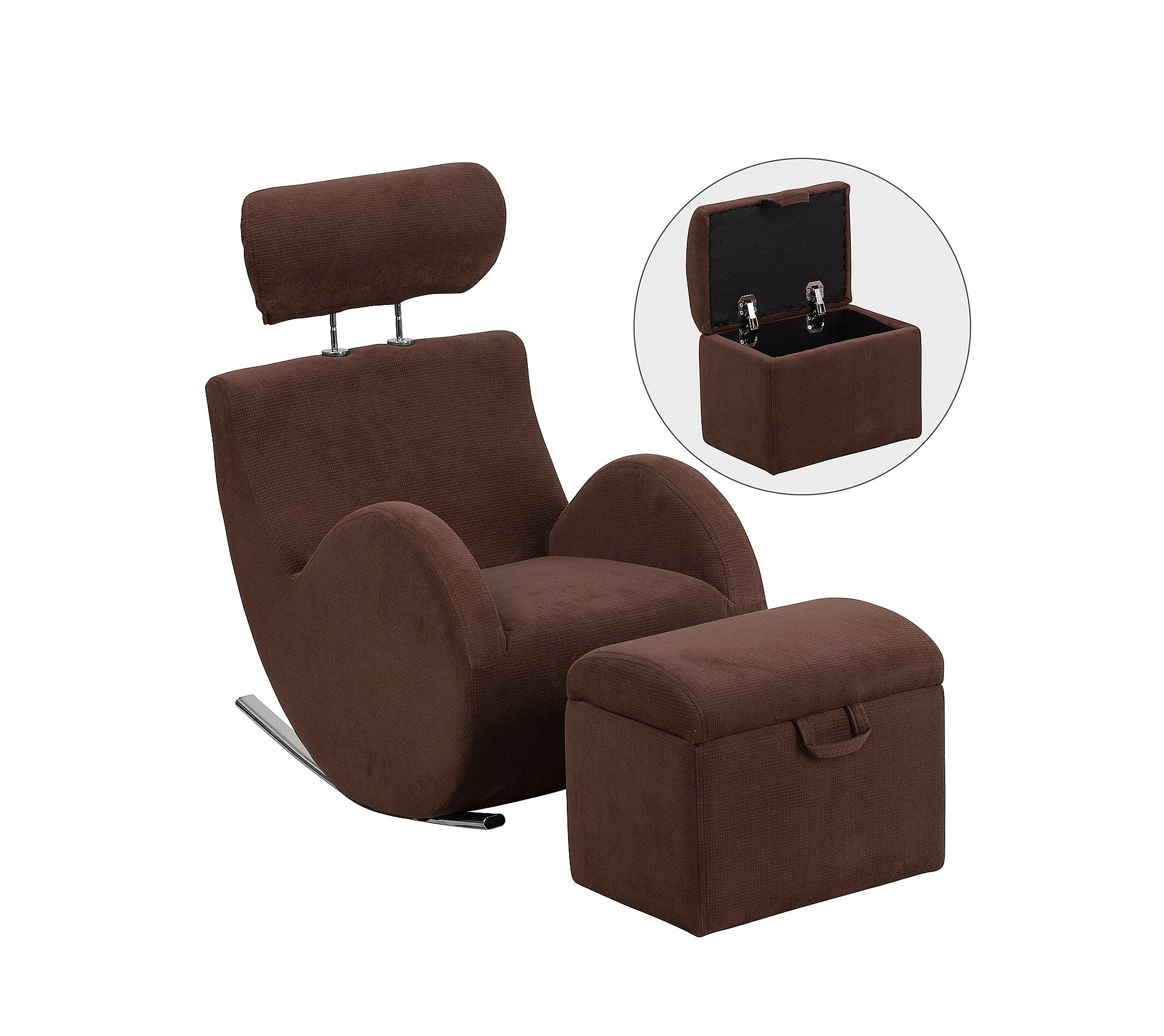 fit review ottoman good rated amazing best support swivel soft spaces touch slanted for chair vanilla and chairs recliner comfort small