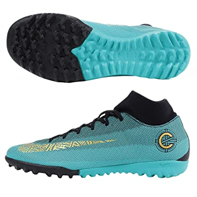 b75cdd4de5e2 cheapest nike mercurial vapor wikipedia 8b445 5bf2f  50% off nike men cr7  superfly 6 academy tf turf soccer shoes jade black gold