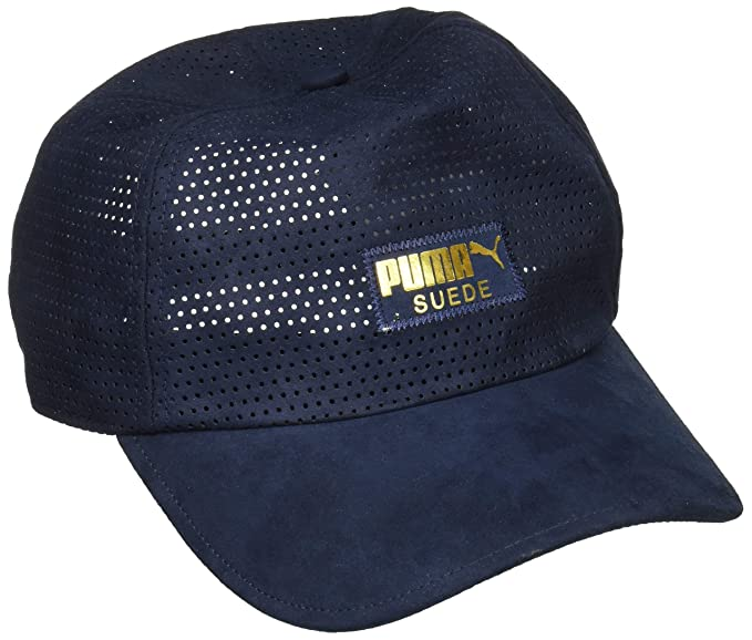Puma Men s Baseball Cap (2171702 Peacoat Adult) Blue  Amazon.in ... 0dbd215c04fb