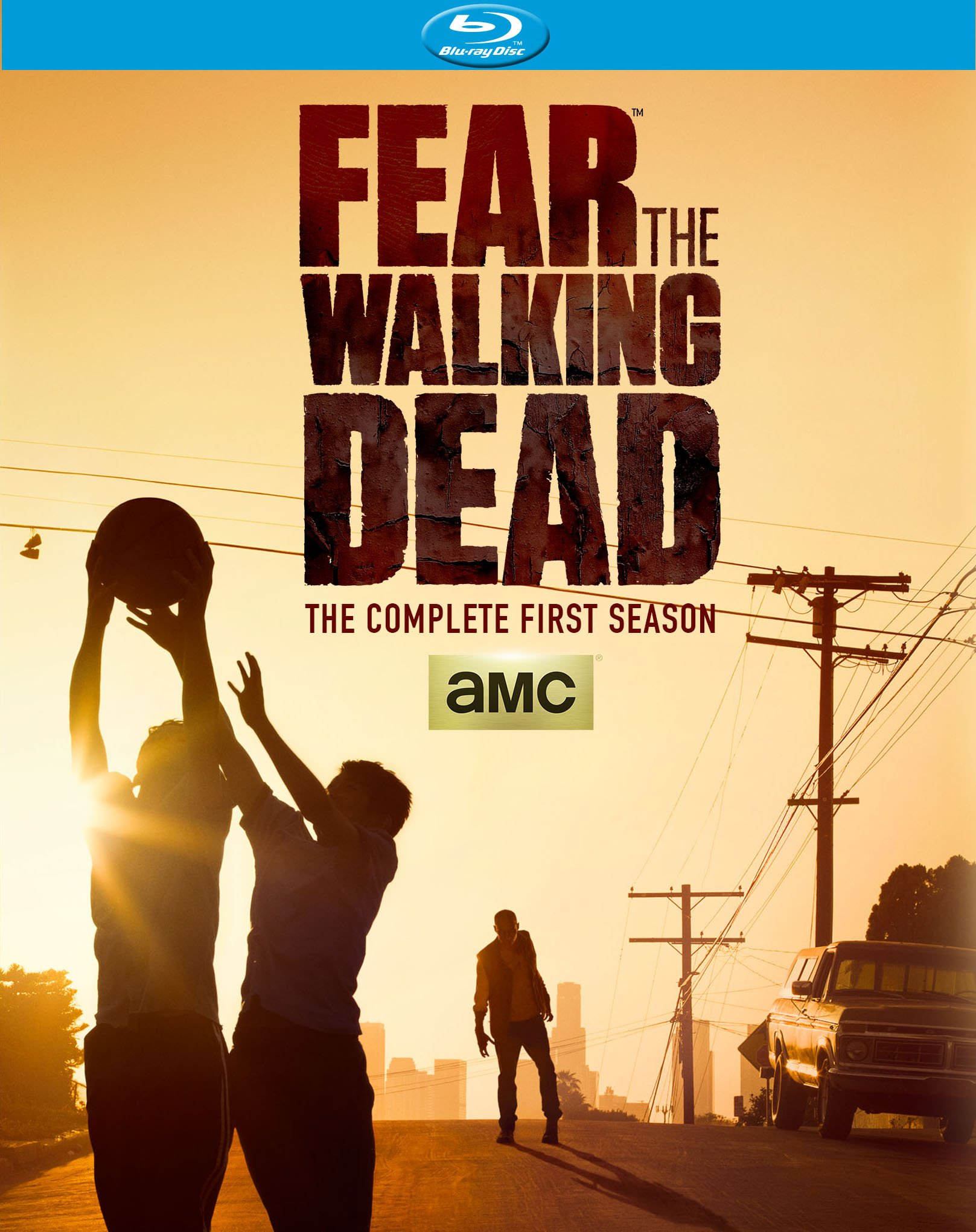 Blu-ray : Fear The Walking Dead: The Complete First Season (2 Pack, 2 Disc)