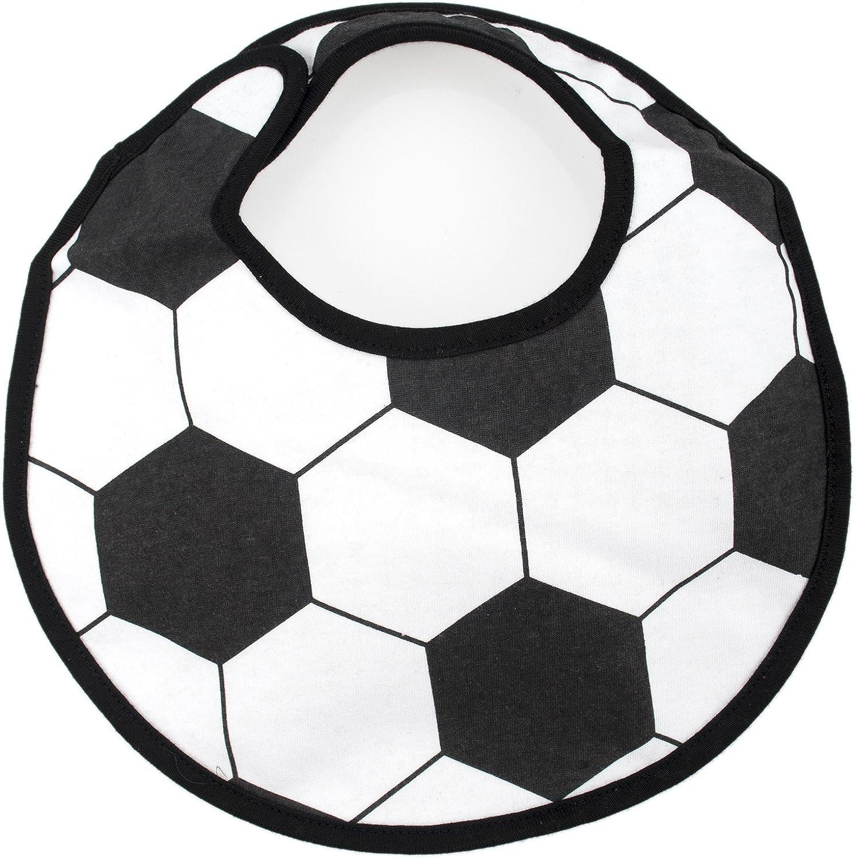 resistente al agua baloncesto 3 capas 1 unidad cierre ajustable f/útbol Gogo Baberos deportivos para beb/és