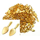 Rockin Beads Brand, 200 Glue on Bails Pendant Hanger Gold Tone Plated 21x8mm