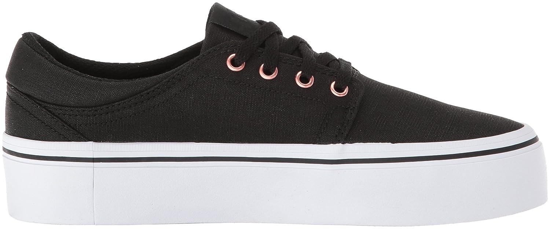 DC Shoe Women's Trase Platform TX SE Skate Shoe DC B0731XWYGK 9.5 B(M) US|Black/Gold 3ddc4f