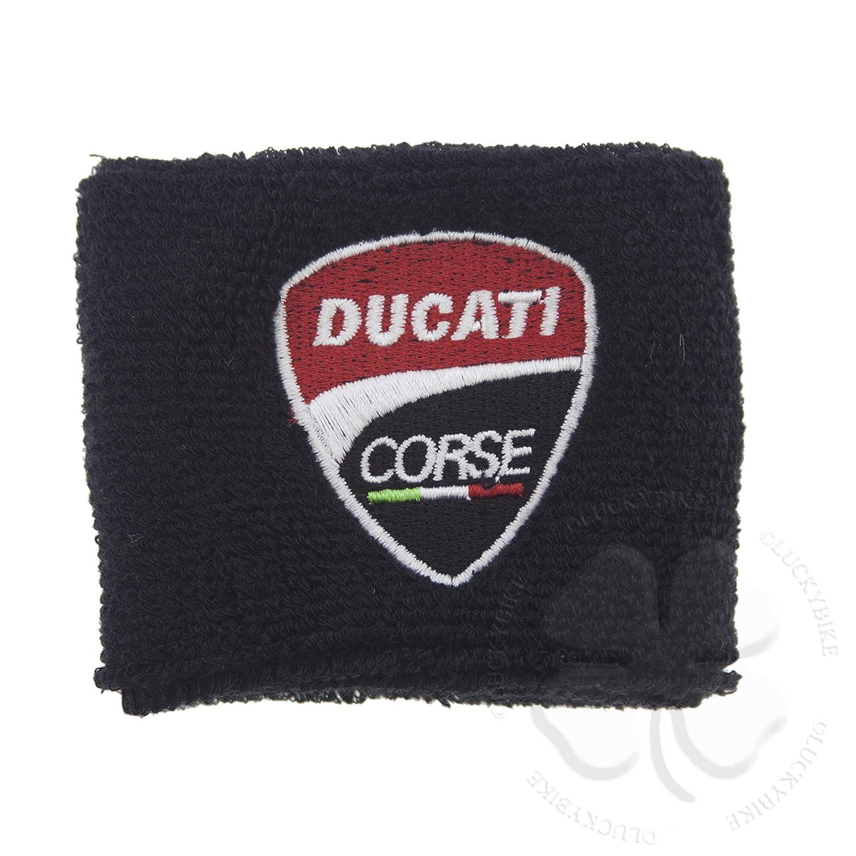 1x Reservoir Sock Large Black Logo Ducati Motorcycle Sleeve Sweat Band