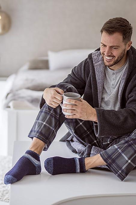 Taille Unique Totes Toasties Jour Chaussettes pour homme Warm Soft 3 Pack Chaussettes Stags//Arbres//tente