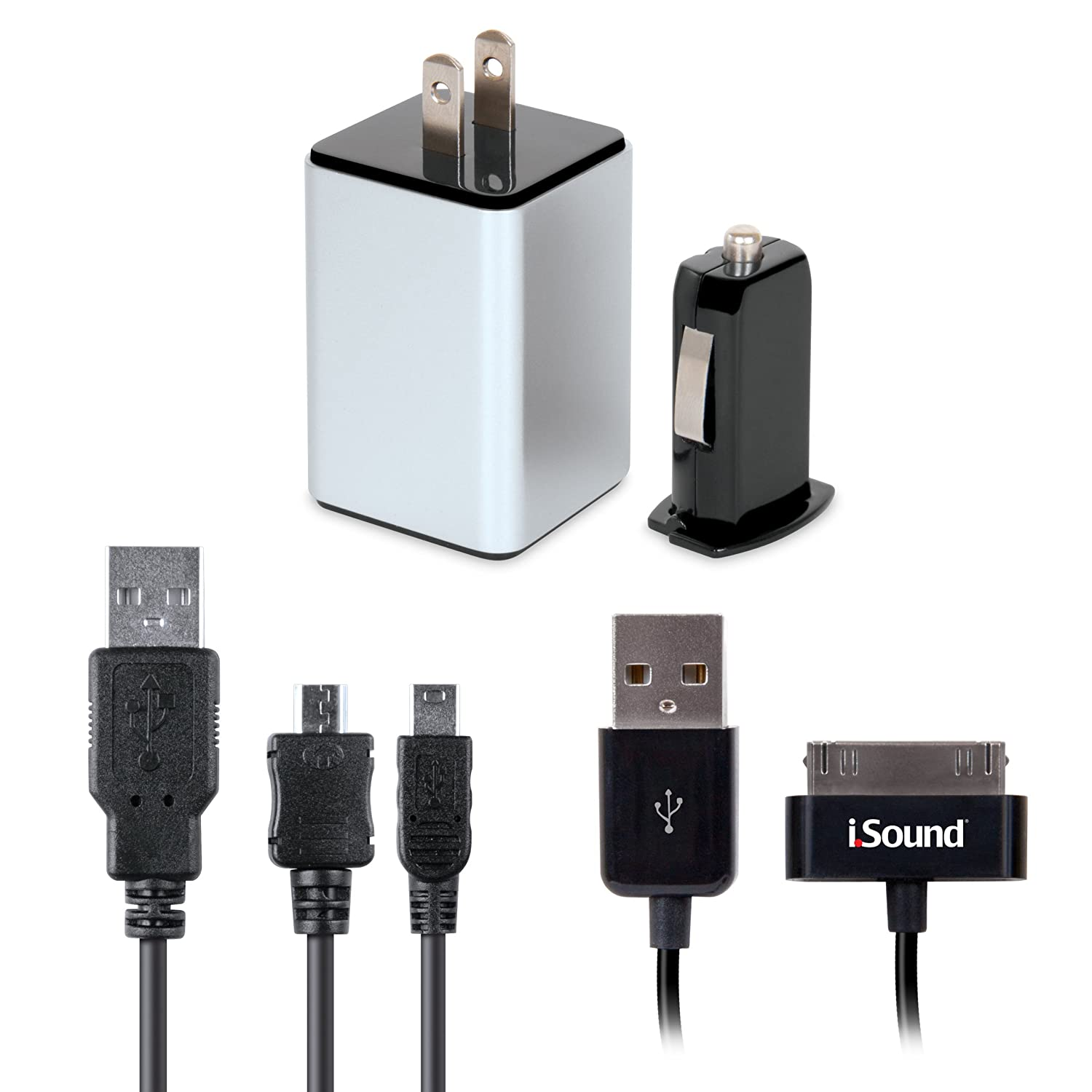 Amazon.com: 4 en 1 Cargador Combo Pack para más dispositivos móviles de Apple USB y: Electronics
