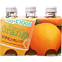 YOUC1000 Vitamin Orange Drink, 140ml (Pack of 6)