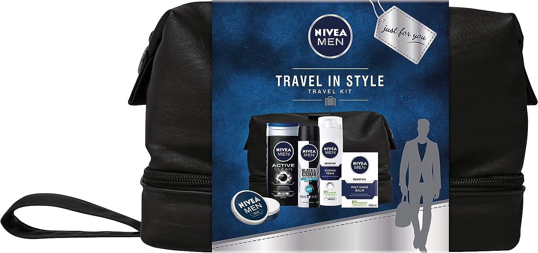 Nivea - Juego de regalo para hombre, diseño de viaje con 5 artículos