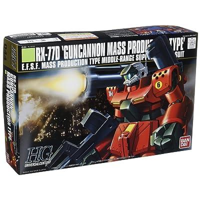 Gundam RX-77D Gun Cannon Mass Production Type HGUC 1/144 Scale: Toys & Games