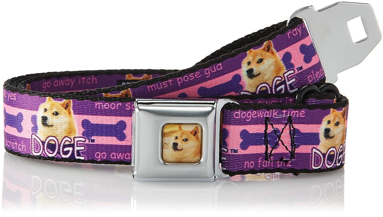 Buckle Down Mens Seatbelt Belt Doge Kids, Dodger Dress up