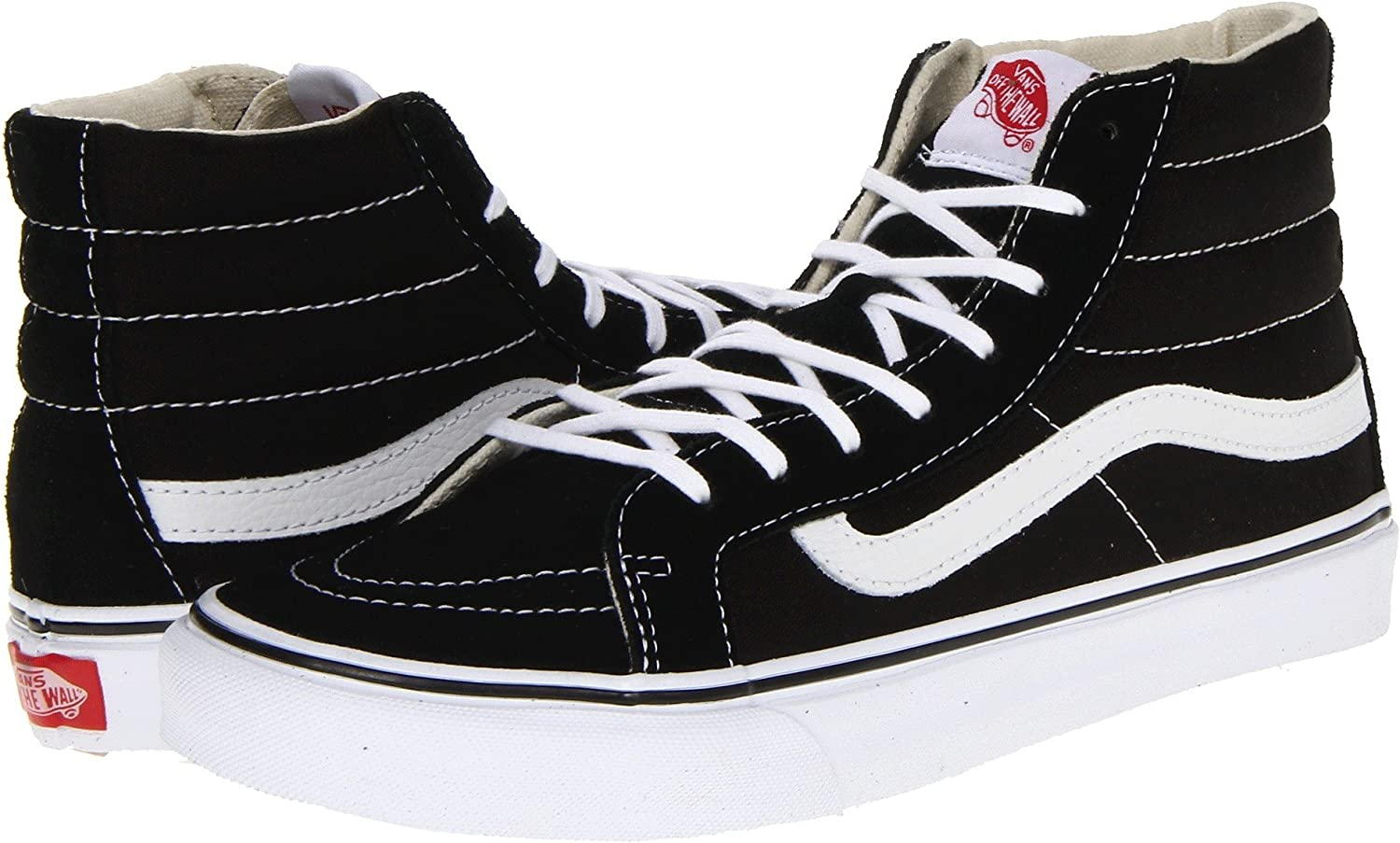 Vans Unisex Adults Sk8-hi Reissue Leather Trainers