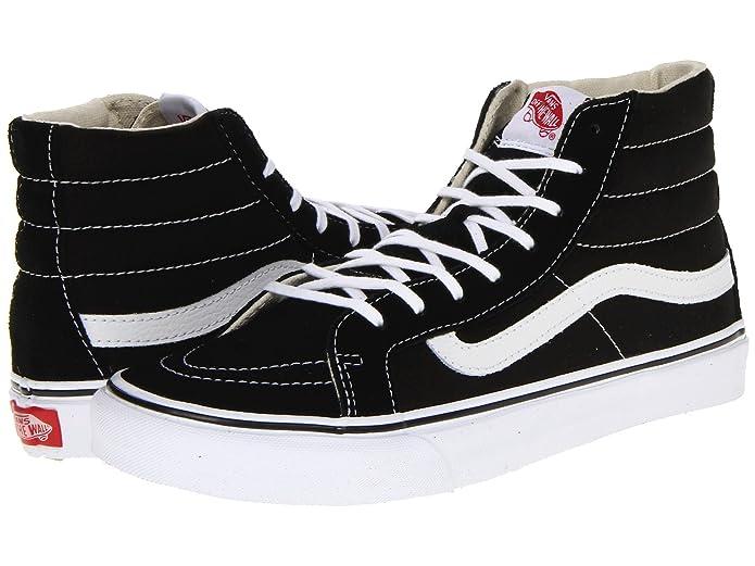 Vans Sk8-Hi High Top Sneaker Damen Herren Kinder Unisex Schwarz Weiß