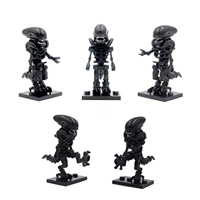 The Xenomorph XX121 Minifigurines Compatibility with Major Building Construction Toys: Toys & Games