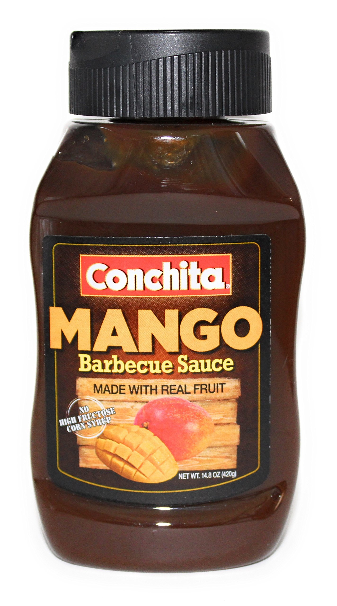 Mango BBQ Sauce | Conchita | Made with Real Fruit | Barbecue & Marinade | 14.8 Oz by Conchita (Image #1)
