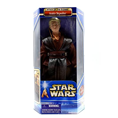 "2002 Star Wars Episode II Attack of the Clones 12"" Action Figure - Anakin Skywalker: Toys & Games"