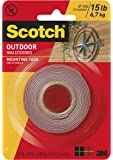 Scotch Outdoor Mounting Tape 2.5cm x 1.5m 411P