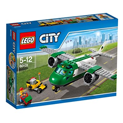 Lego City cargo airplane 60101: Toys & Games