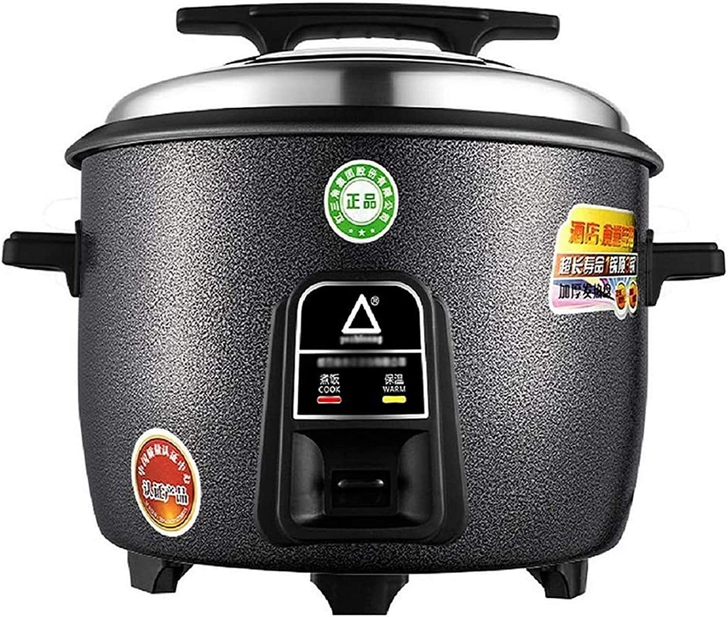 POETRY Commercial Rice Cooker Large Capacity 8-45L Large Old-Fashioned Rice Cooker for Canteen/Hotel/Hotel/School (8-60 People) (Size: 10L-1600W)