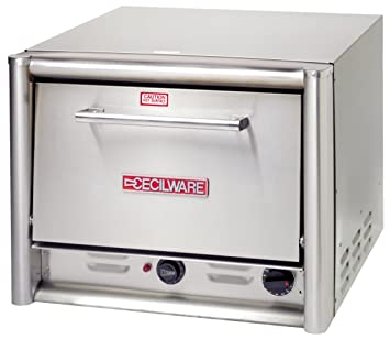 grindmaster cecilware PO22 Countertop Pizza horno con 2 estantes, 26.5-inch, acero inoxidable