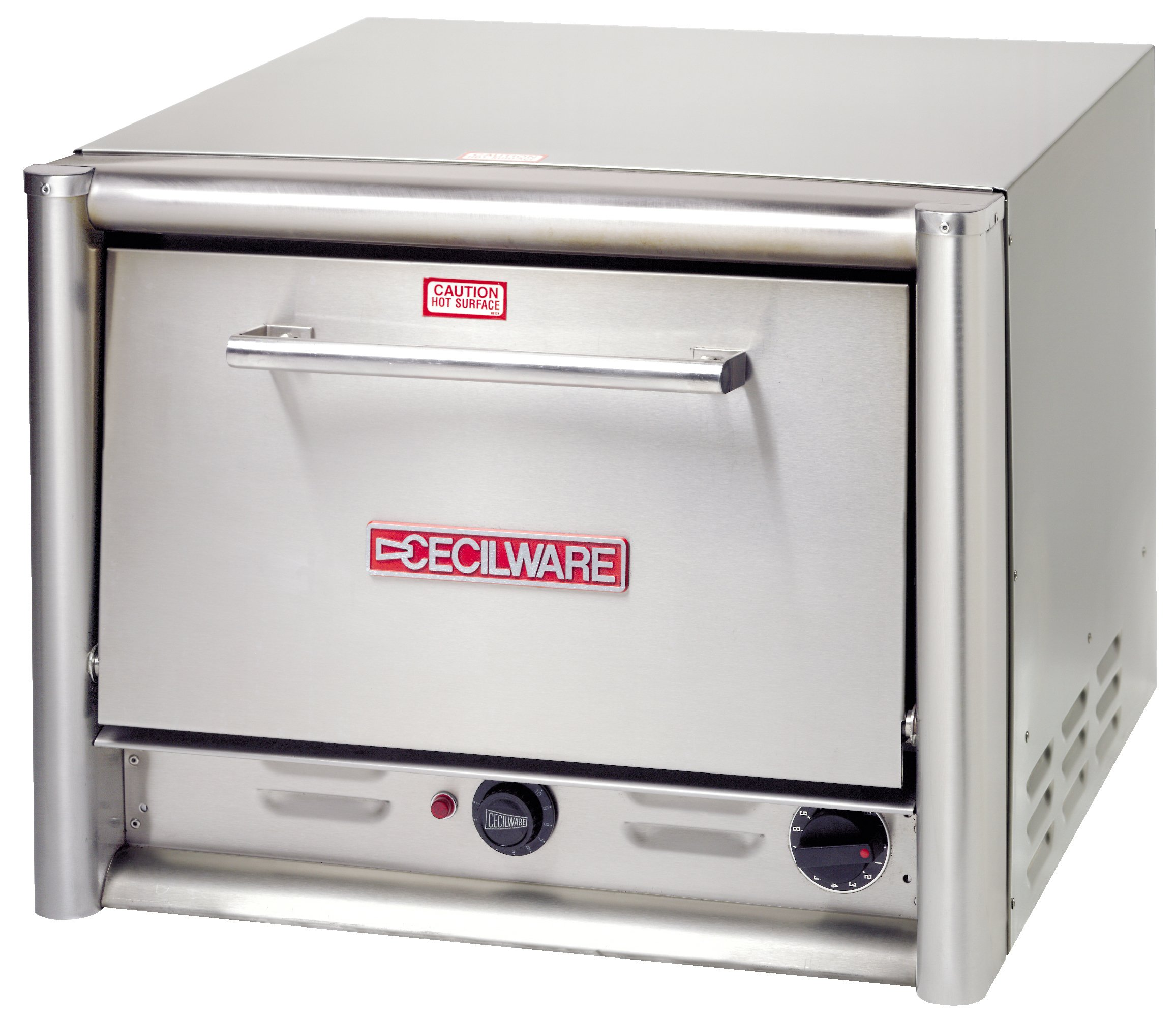 Grindmaster Cecilware PO18-220 Countertop Pizza Oven with 2 Shelves, 23.5-Inch, Stainless Steel by Lee Global Imports and Consulting, Inc.