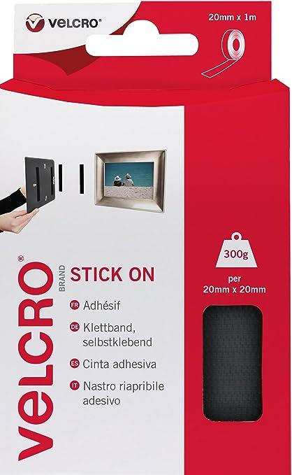 71 opinioni per VELCRO Brand Nastro Riapribile Adesivo Nero 20 mm x 1 m