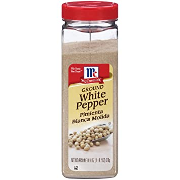 White pepper seasoning