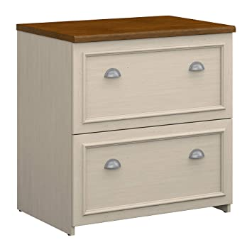 size 40 bc2fa 109da Bush Furniture Fairview Lateral File Cabinet in Antique White
