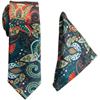 To The Nines Men's Green Tie and Pocket Square