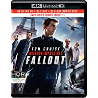 Mission: Impossible 6 - Fallout (4K UHD + HD + Bonus Disc) (3-Disc)