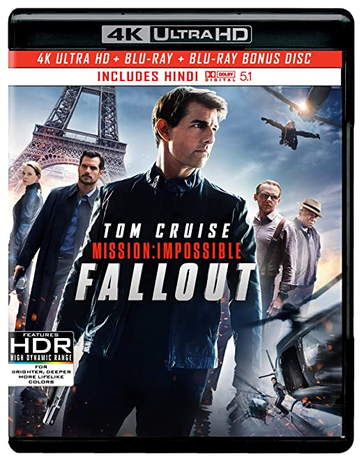 Amazon in: Buy Mission: Impossible 6 - Fallout (4K UHD + HD + Bonus