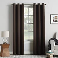 Sun Zero Easton Blackout Energy Efficient Grommet Curtain Panel