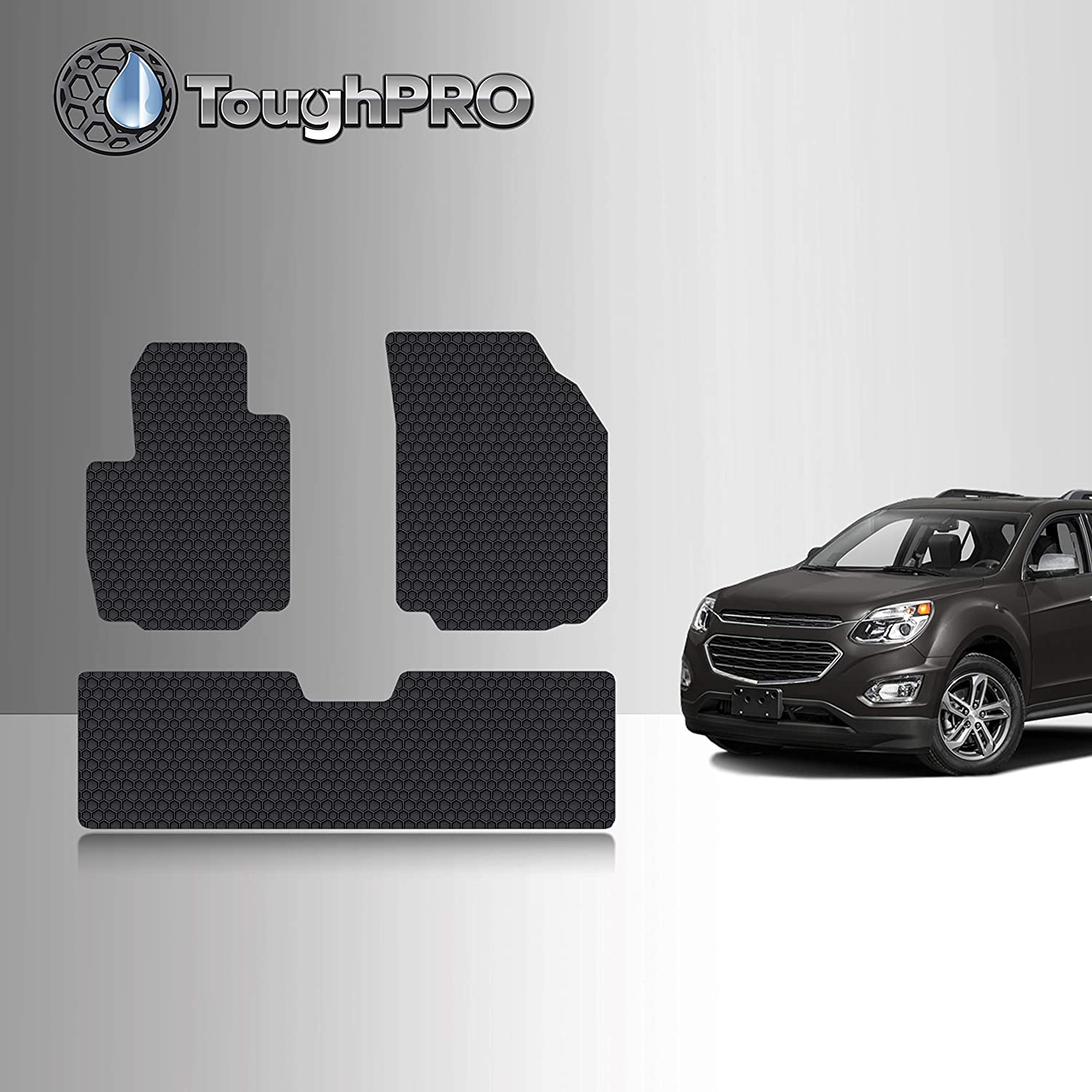 Cosilee Floor Mats Compatible for 2018-2020 Chevrolet Equinox All Weather Protector TPE Front /& Rear Row Floor Liners Slush Mat Liner Set