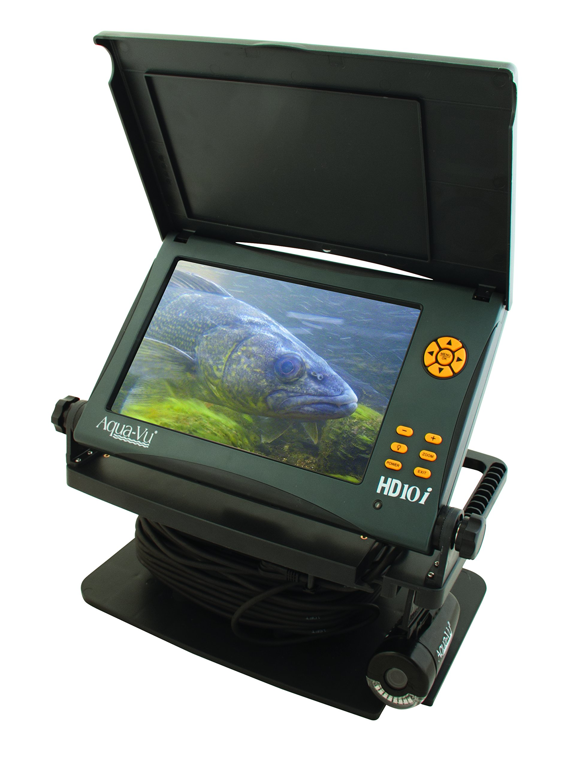 Aqua-Vu HD10i Underwater Camera 10-Inch Color LCD Screen and 75-Feet Cable by Aqua-Vu