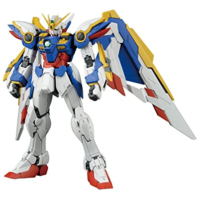"Bandai Hobby BAN203222 RG 1/144 #20 Wing Gundam Ver EW Gundam Wing Action Figure, Multicolor, 8"": Toys & Games"