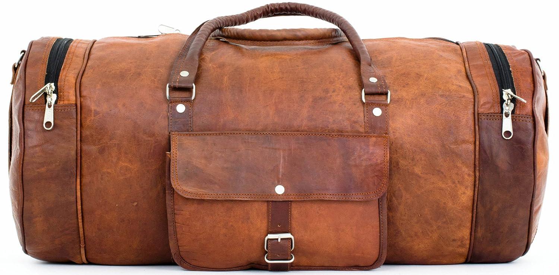 """Bolso de viaje """"Michael"""" de cuero, gran capacidad, estilo vintage"""