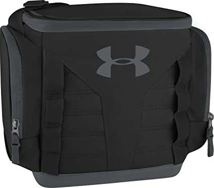 b5ed101a236c Under Armour 12 Can Soft Sided Cooler, Black/Pitch Gray