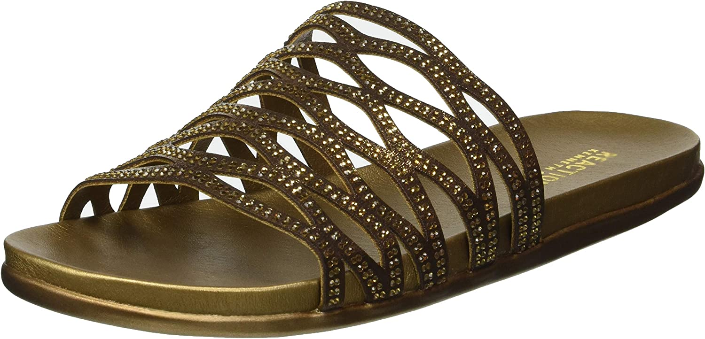 Kenneth Cole REACTION Women's Slim Slide Flat Sandal